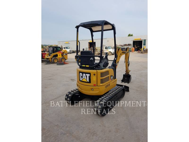 CATERPILLAR KETTEN-HYDRAULIKBAGGER 301.7DCR equipment  photo 5