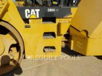CATERPILLAR VIBRATORY DOUBLE DRUM ASPHALT CB-54 equipment  photo 18