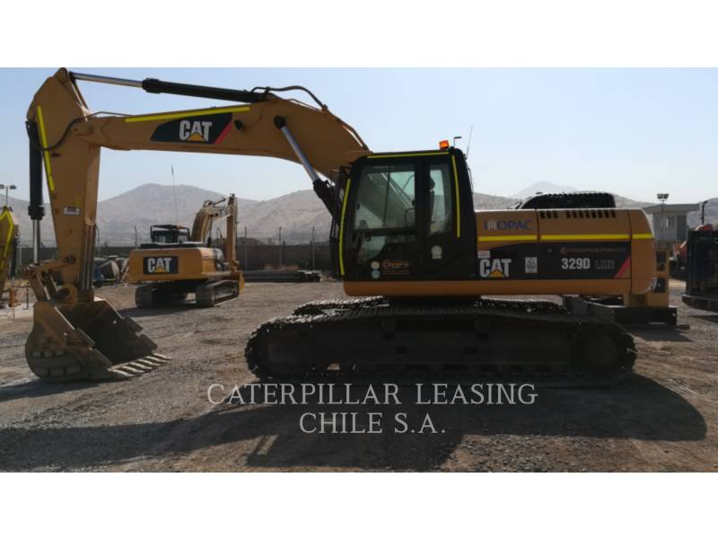 CATERPILLAR EXCAVADORAS DE CADENAS 329 D equipment  photo 1