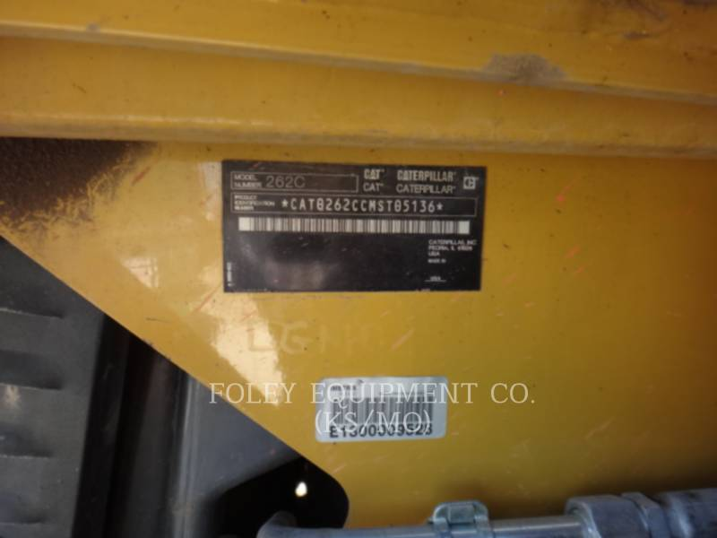 CATERPILLAR CHARGEURS COMPACTS RIGIDES 262C equipment  photo 6