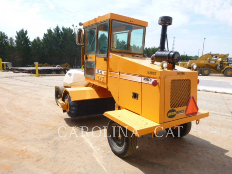 ROSCO ROAD BROOMS RB48 equipment  photo 6
