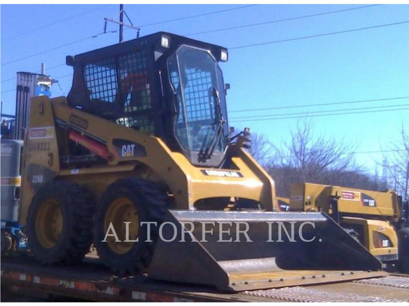 CATERPILLAR MINICARGADORAS 226B3 SA equipment  photo 1