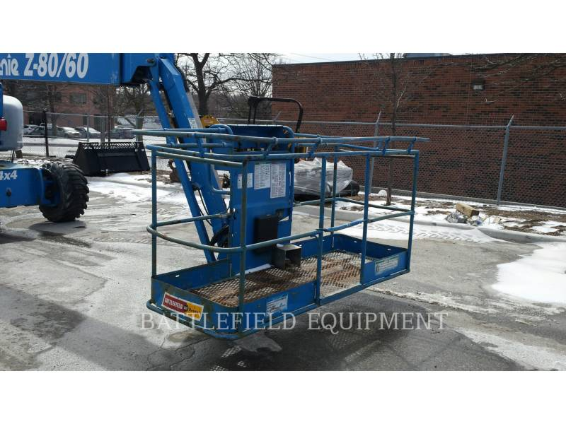 GENIE INDUSTRIES LIFT - BOOM Z80/60J RT equipment  photo 2