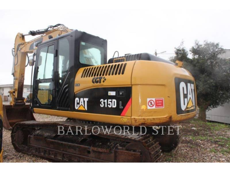 CATERPILLAR FORSTWIRTSCHAFT - HYDRAULIKBAGGER 315DL equipment  photo 2