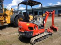 KUBOTA CANADA LTD. TRACK EXCAVATORS KX018-4 equipment  photo 3