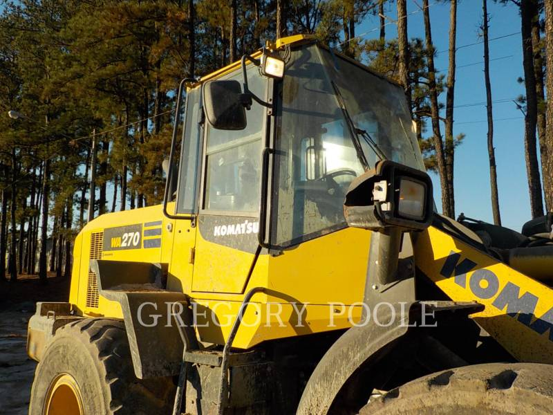 KOMATSU WHEEL LOADERS/INTEGRATED TOOLCARRIERS WA270-7 equipment  photo 2