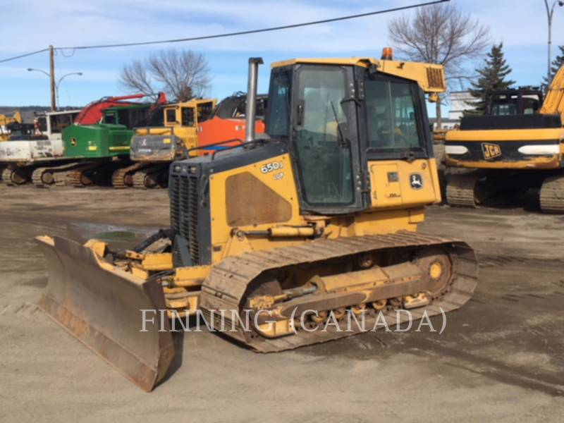 JOHN DEERE TRACK TYPE TRACTORS 650J equipment  photo 1