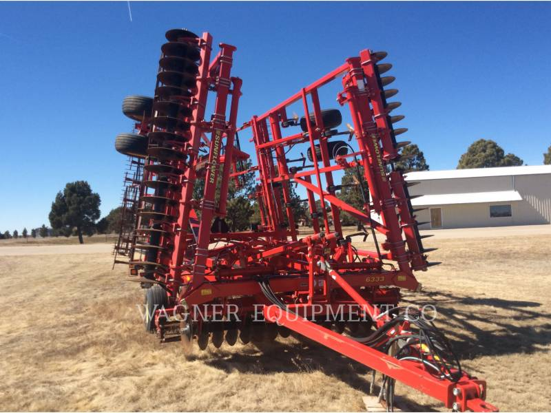 SUNFLOWER MFG. COMPANY AG TILLAGE EQUIPMENT SF6333-31 equipment  photo 7