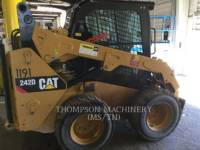 Equipment photo CATERPILLAR 242D CHARGEURS COMPACTS RIGIDES 1