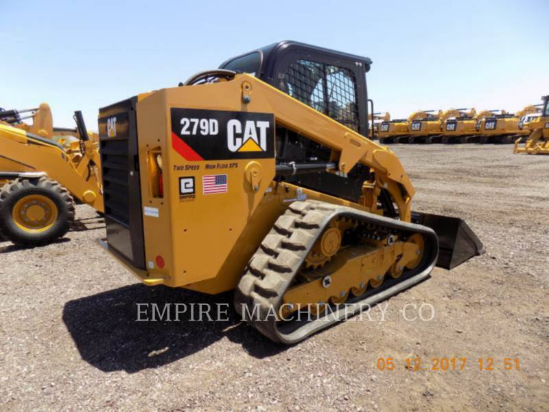 CATERPILLAR MINICARGADORAS 279D XPS equipment  photo 2