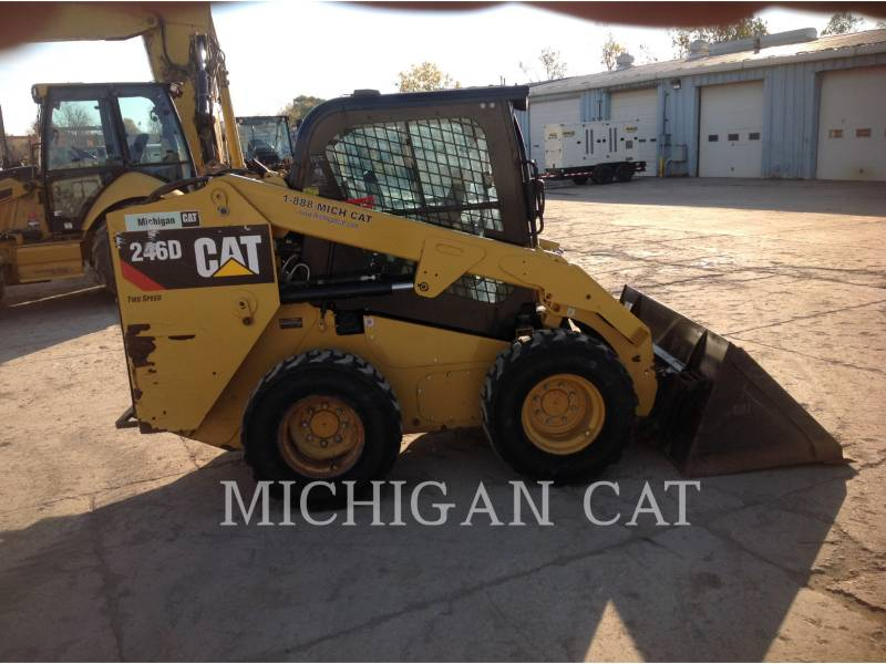CATERPILLAR MINICARGADORAS 246D C2Q equipment  photo 9