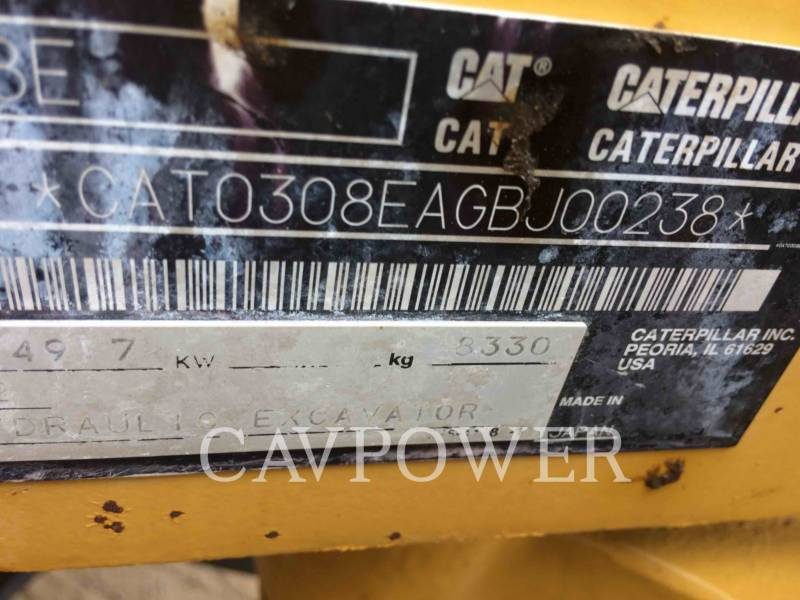 CATERPILLAR PELLES SUR CHAINES 308ECRSB equipment  photo 6