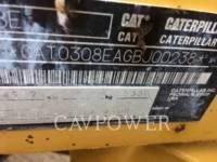 CATERPILLAR トラック油圧ショベル 308ECRSB equipment  photo 6