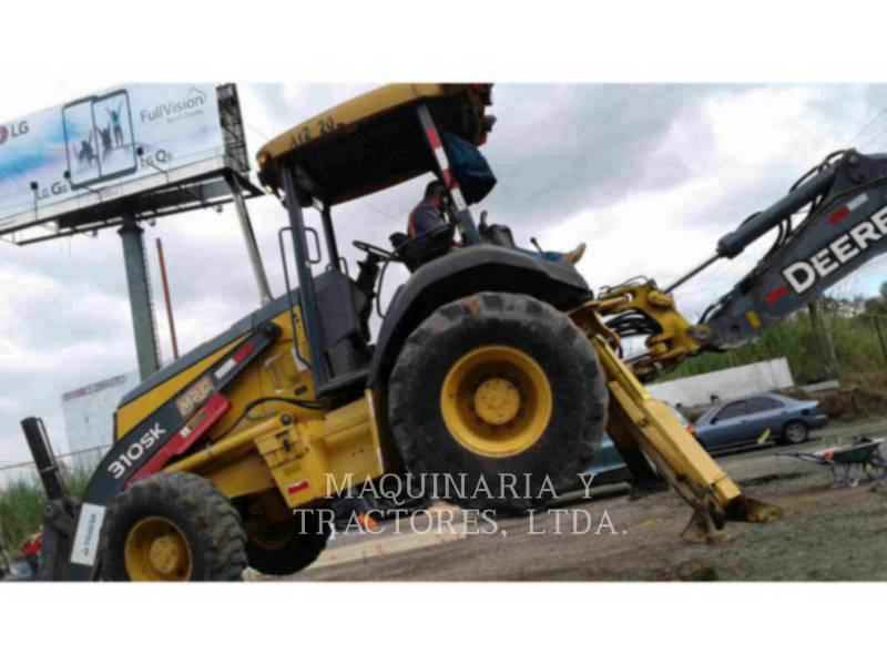 JOHN DEERE BAGGERLADER 310SK equipment  photo 2
