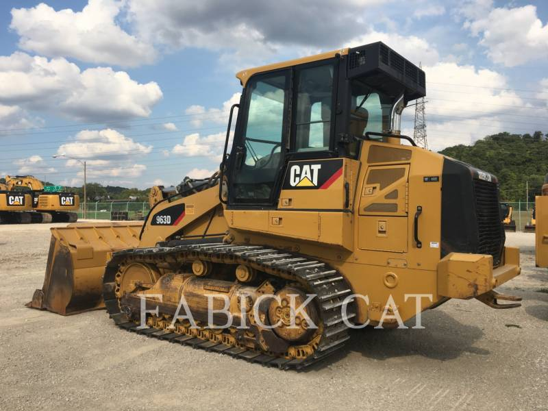 CATERPILLAR TRACK LOADERS 963D equipment  photo 4