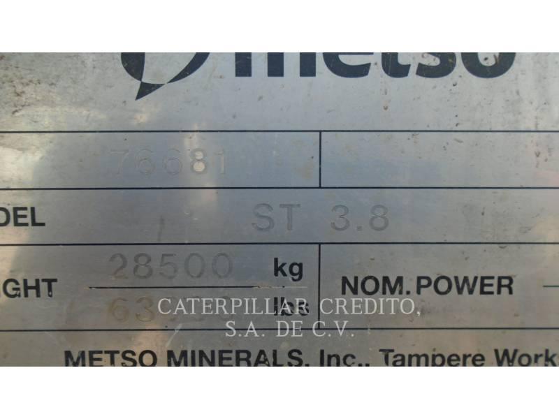METSO SCREENS ST 3.8 equipment  photo 6