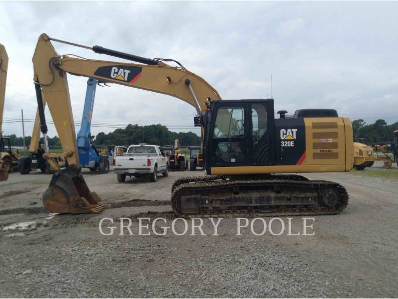 CATERPILLAR KETTEN-HYDRAULIKBAGGER 320E/HYD equipment  photo 8