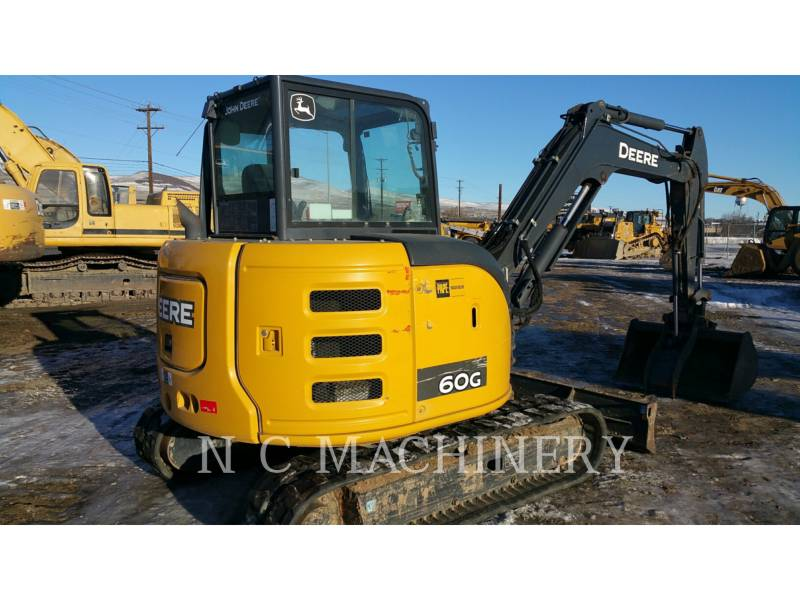 JOHN DEERE TRACK EXCAVATORS 60G equipment  photo 3