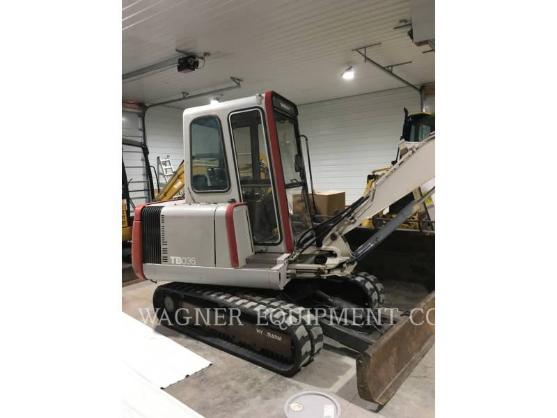 TAKEUCHI MFG. CO. LTD. TRACK EXCAVATORS TB035 equipment  photo 1