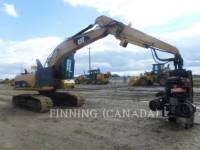 Equipment photo Caterpillar 320DFMHW CUPĂ MINERIT/EXCAVATOR 1