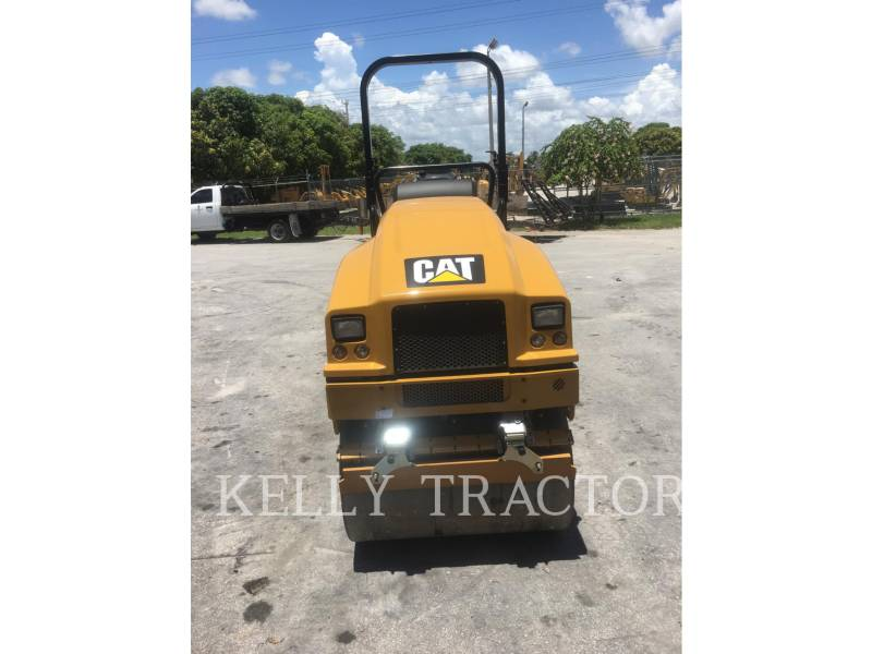 CATERPILLAR TAMBOR DOBLE VIBRATORIO ASFALTO CB 22 B equipment  photo 8