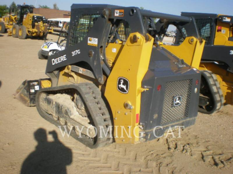 JOHN DEERE SKID STEER LOADERS 317G equipment  photo 6