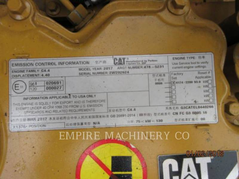 CATERPILLAR KOPARKI GĄSIENICOWE 320D2-GC equipment  photo 12