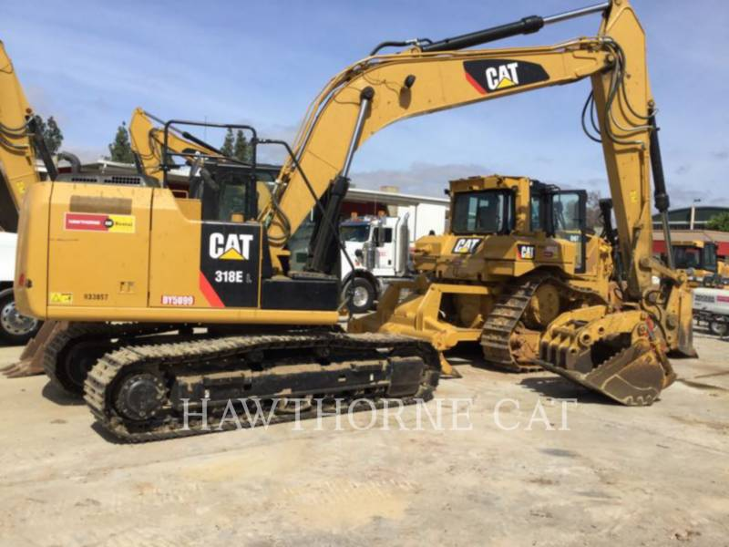 CATERPILLAR TRACK EXCAVATORS 318EL equipment  photo 1