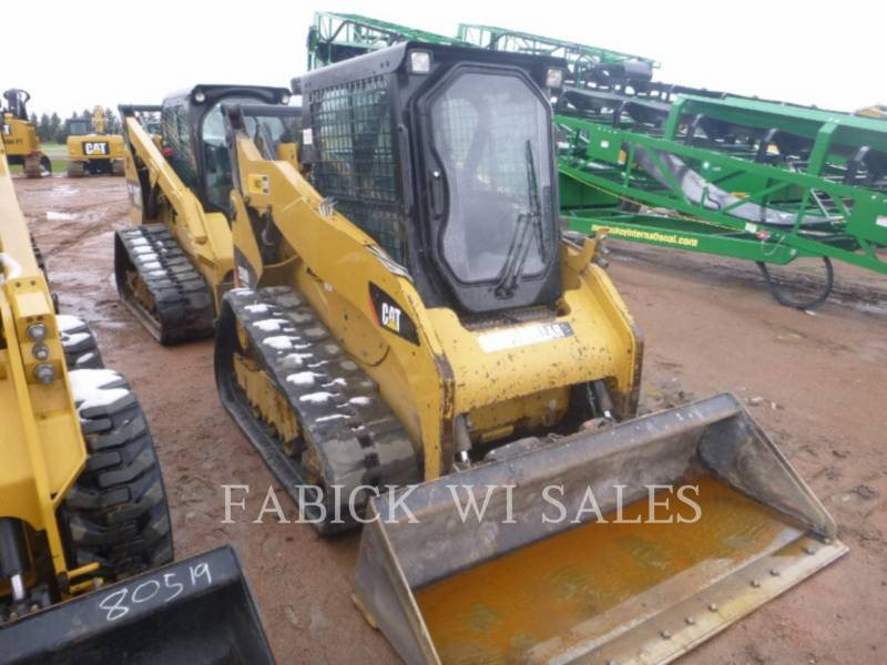 CATERPILLAR CHARGEURS TOUT TERRAIN 259B3 equipment  photo 4
