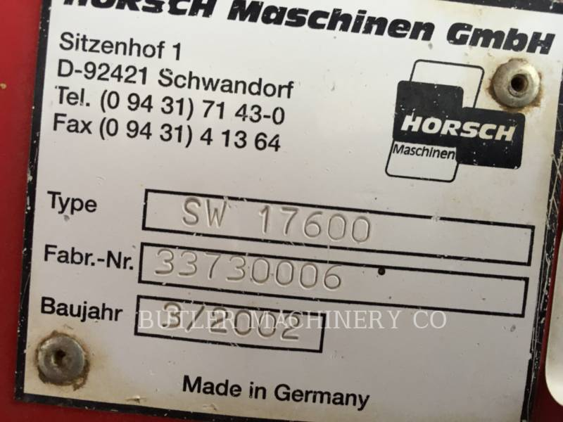 HORSCH ANDERSON Pflanzmaschinen PS4015 equipment  photo 2