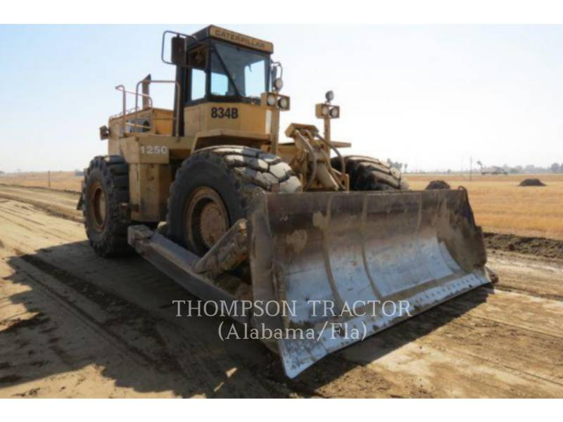 CATERPILLAR WHEEL DOZERS 834B equipment  photo 1