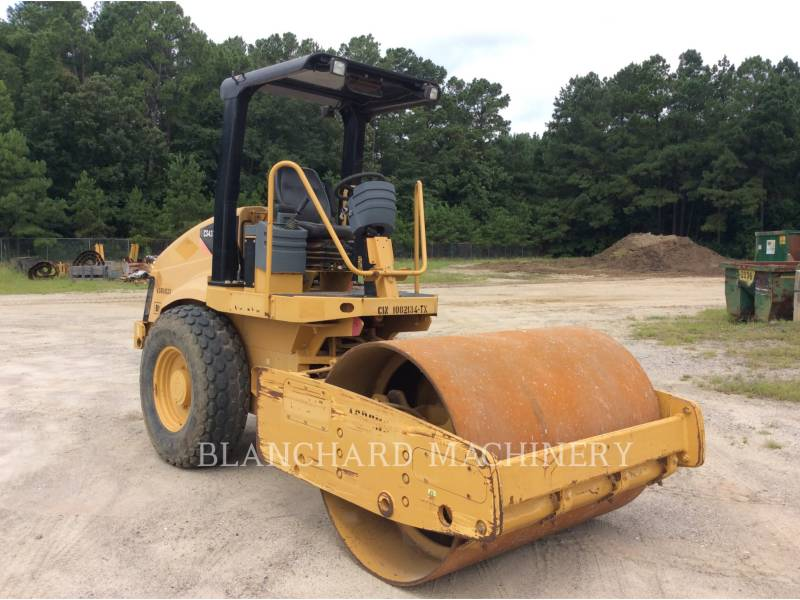 CATERPILLAR VIBRATORY SINGLE DRUM SMOOTH CS-433E equipment  photo 2