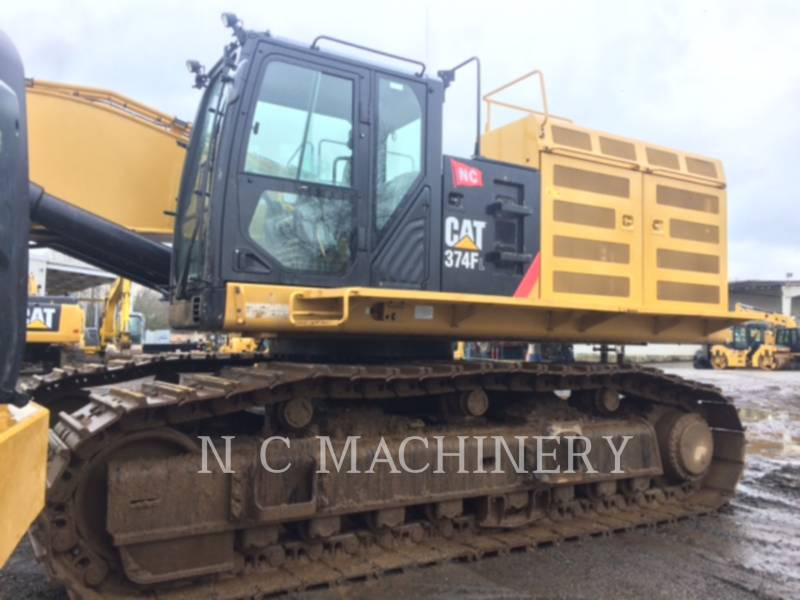 CATERPILLAR ESCAVATORI CINGOLATI 374FL equipment  photo 1