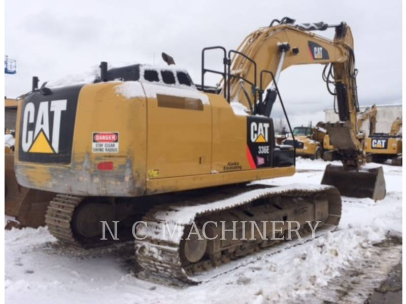 CATERPILLAR EXCAVADORAS DE CADENAS 336E L equipment  photo 3