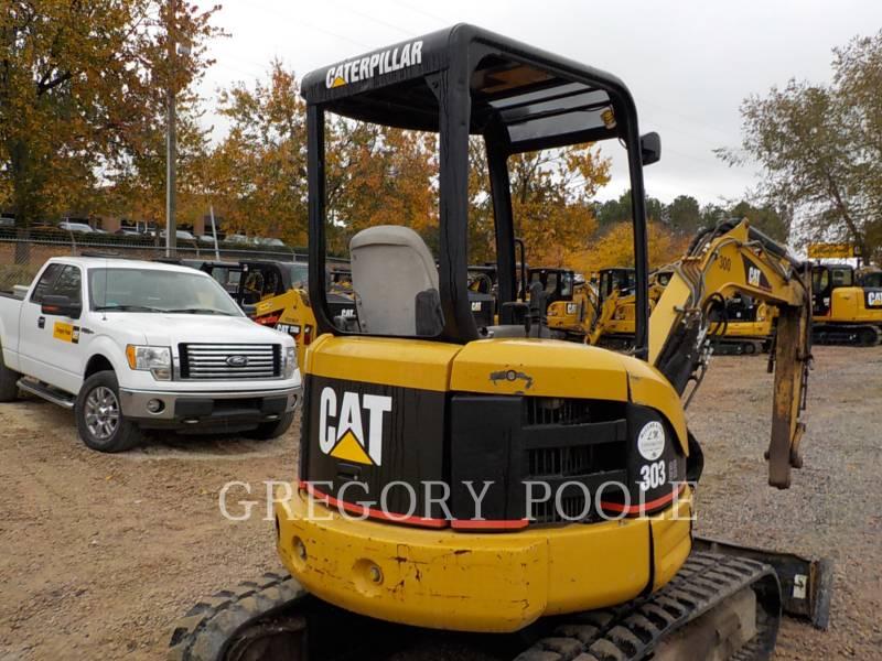 CATERPILLAR TRACK EXCAVATORS 303 CR equipment  photo 11