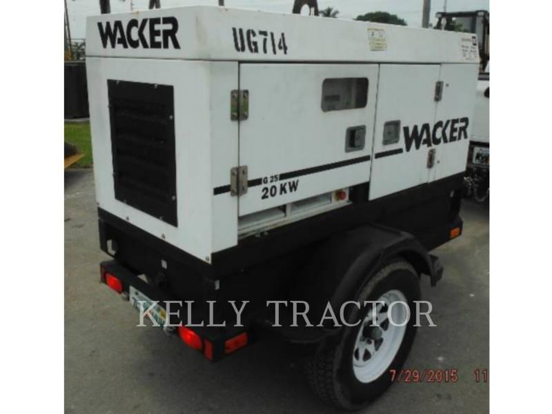 WACKER CORPORATION 移動式発電装置 G25 equipment  photo 2