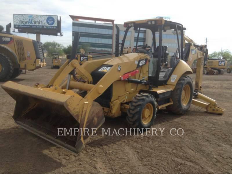 CATERPILLAR BAGGERLADER 420F 4EO equipment  photo 4