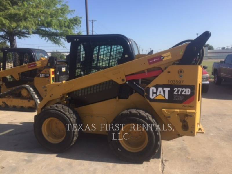 CATERPILLAR SKID STEER LOADERS 272 D XHP equipment  photo 1