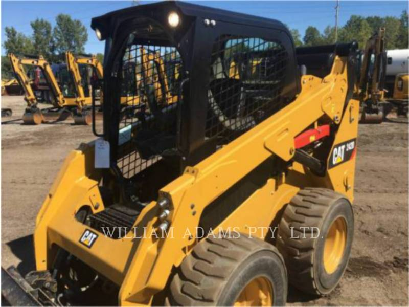 Caterpillar MINIÎNCĂRCĂTOARE RIGIDE MULTIFUNCŢIONALE 242D equipment  photo 6
