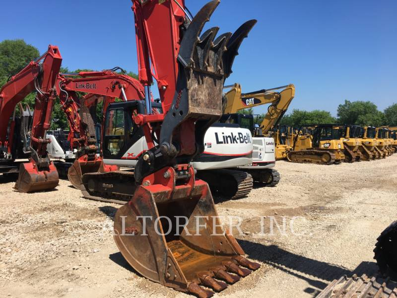 LINK-BELT CONSTRUCTION TRACK EXCAVATORS 250X4 equipment  photo 4