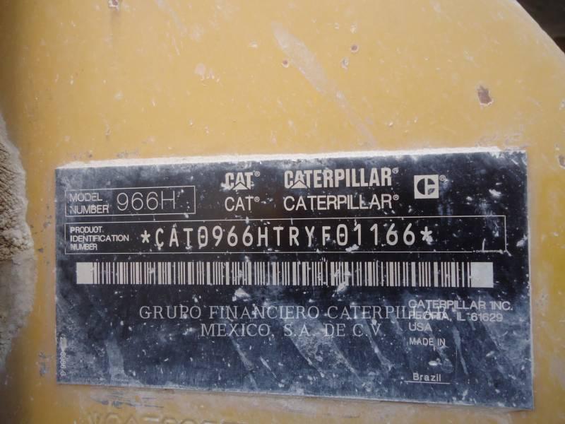 Caterpillar ÎNCĂRCĂTOARE PE ROŢI/PORTSCULE INTEGRATE 966 H equipment  photo 9