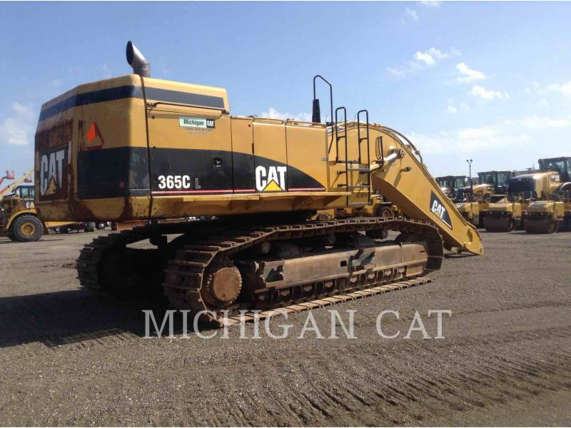 CATERPILLAR TRACK EXCAVATORS 365CL equipment  photo 3