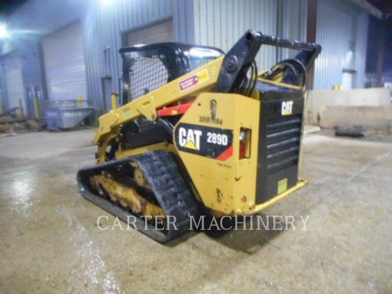 CATERPILLAR SKID STEER LOADERS 289D CY equipment  photo 4