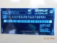 CATERPILLAR PELLES SUR CHAINES 349 D2 L equipment  photo 5