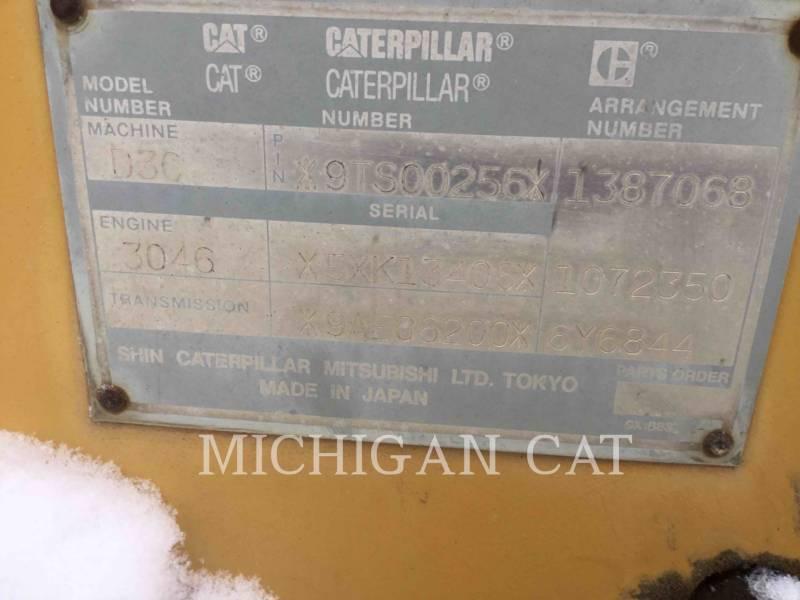 CATERPILLAR TRACK TYPE TRACTORS D3CIIIXL equipment  photo 7