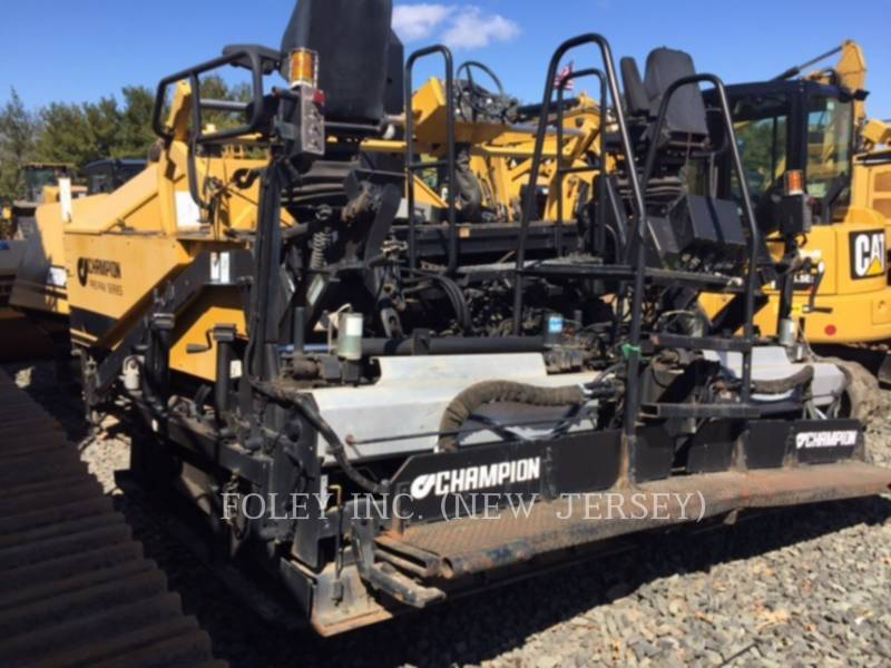 CHAMPION ASPHALT PAVERS 1110T equipment  photo 4