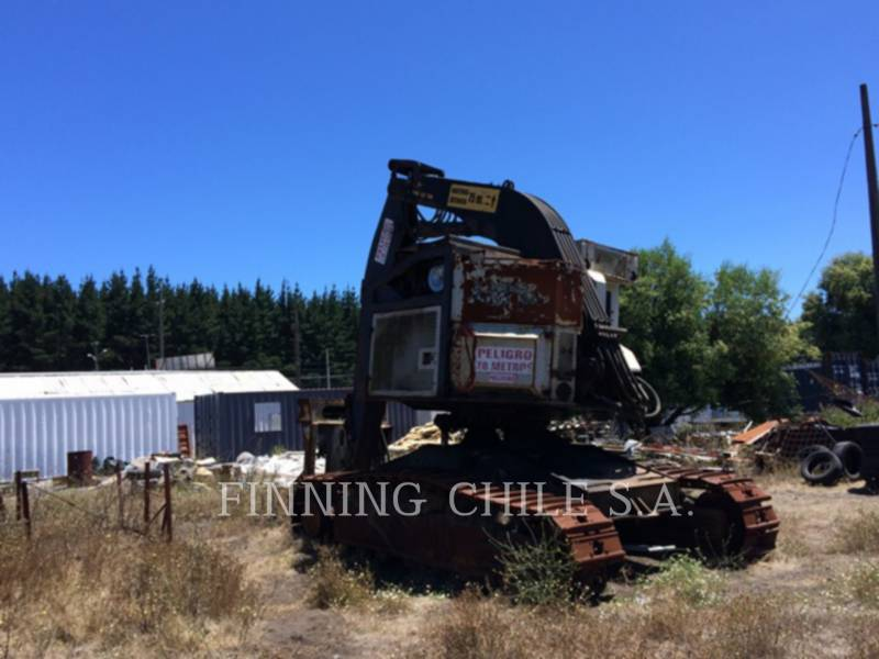 TIMBCO FORESTRY - FELLER BUNCHERS - TRACK T445D equipment  photo 9