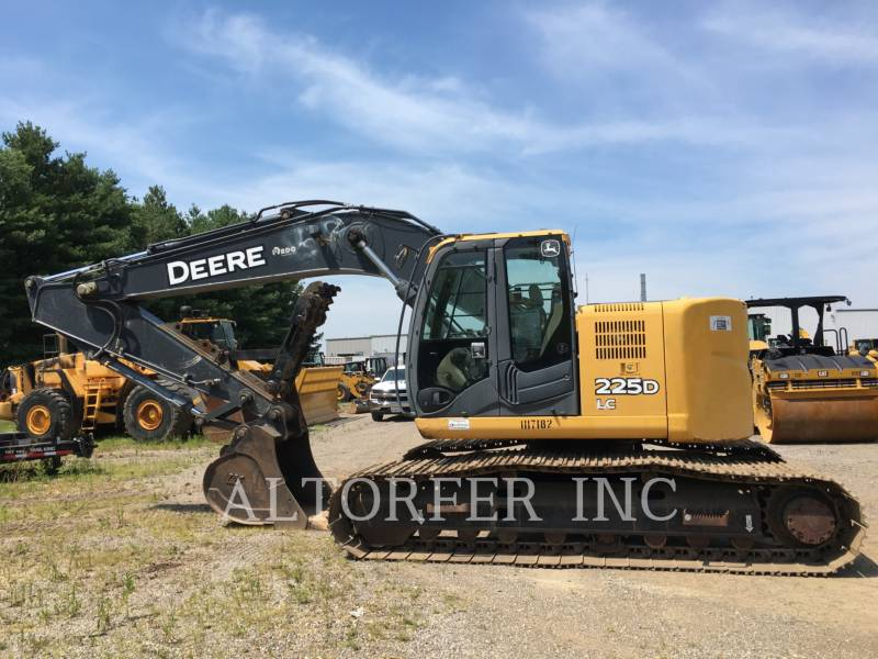 DEERE & CO. KETTEN-HYDRAULIKBAGGER 225D LC equipment  photo 3
