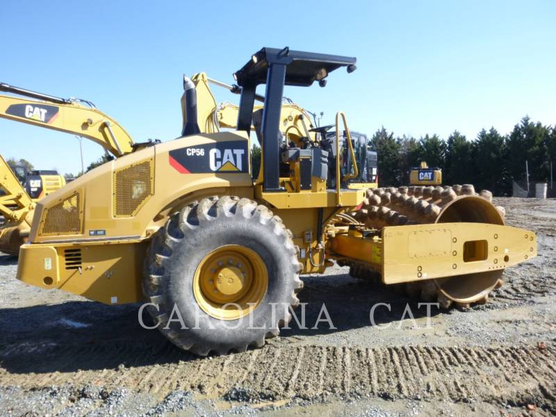CATERPILLAR EINZELVIBRATIONSWALZE, BANDAGE CP56 equipment  photo 4