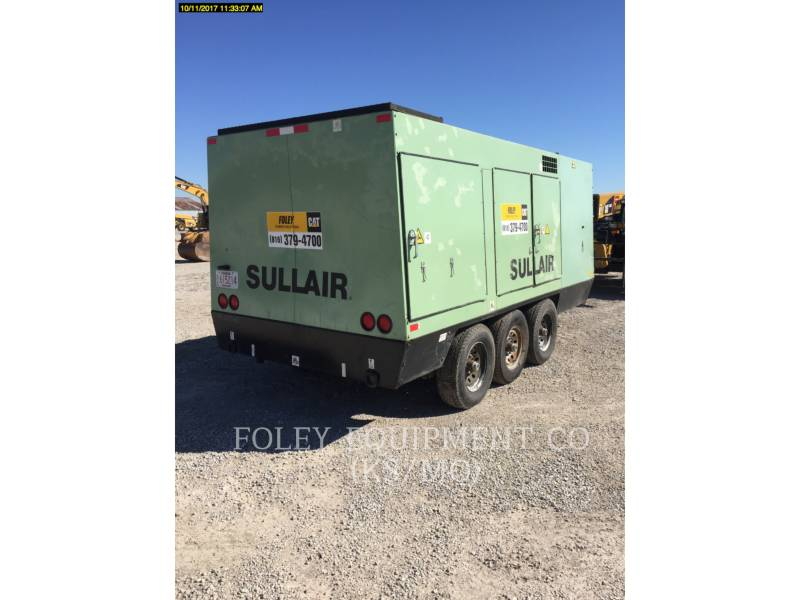 SULLAIR LUFTKOMPRESSOR 1150XHA900 equipment  photo 2